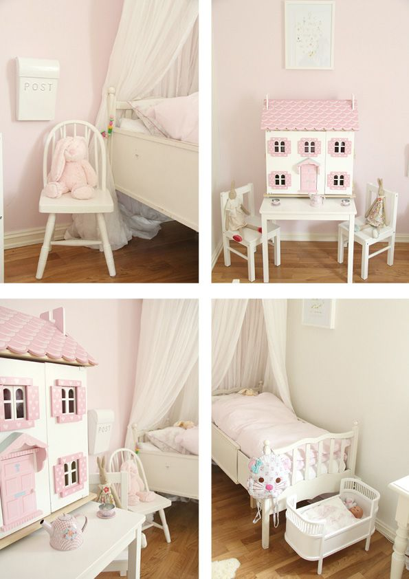 Pink and pretty little girls room