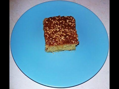 Κέικ με ταχίνι! Lenten cake with tahini! Ep.111