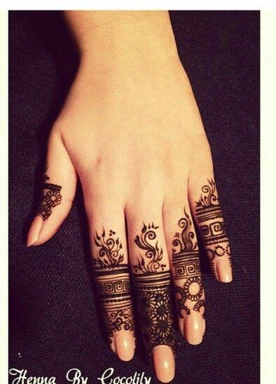 Beautiful and elegant henna design