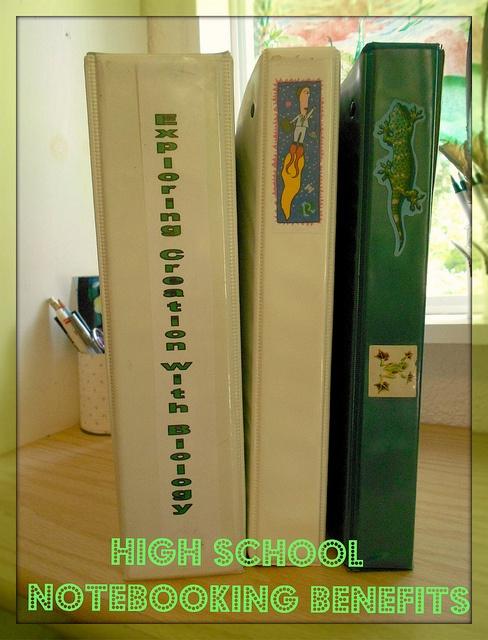 HIgh School Notebooking Benefits from a veteran homeschool mom