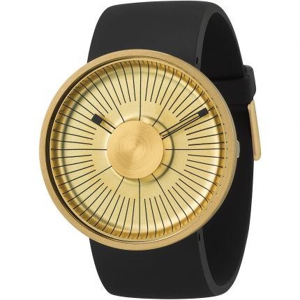 AWESOME!  and only $150! Michael Young MY03-05 Watch - Gold Face/Black Rubber Strap