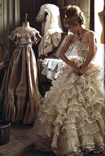 Emma Watson in Vogue Italia