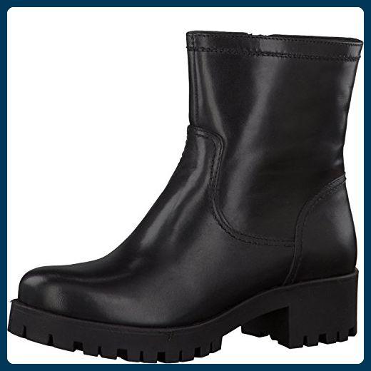 Tamaris Damenschuhe 1-1-26847-37 Damen Stiefel, Boots, Winterstiefel schwarz (BLACK), EU 38 - Stiefel für frauen (*Partner-Link)