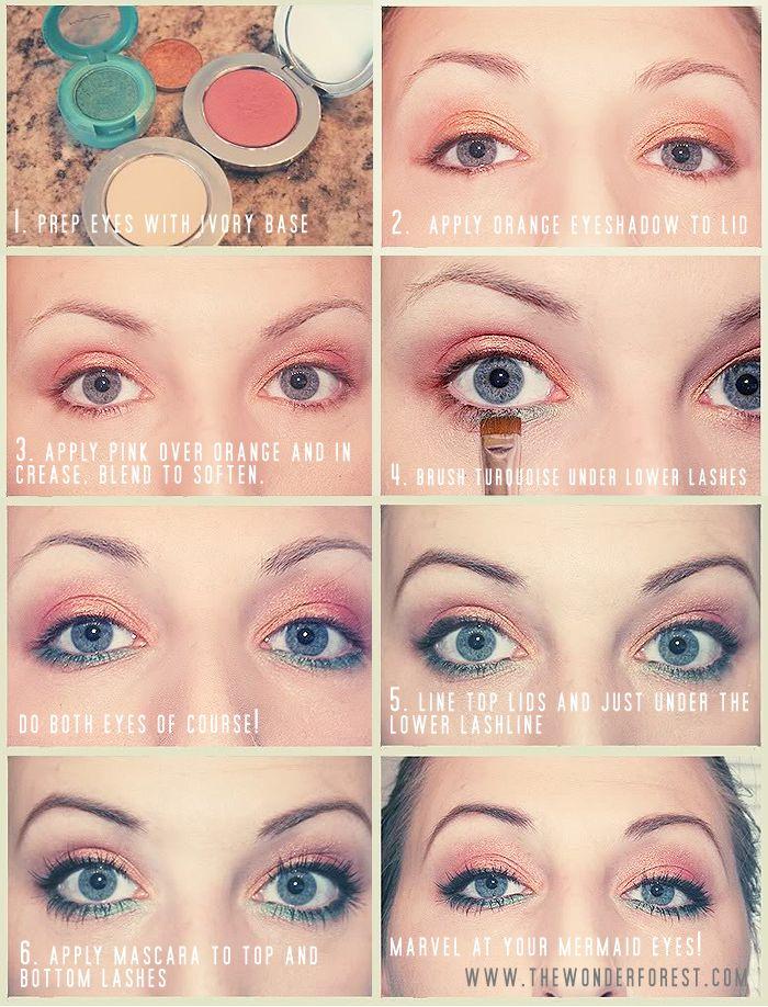 Mermaid Eyes! Gorgeous and Fun Makeup Tutorial