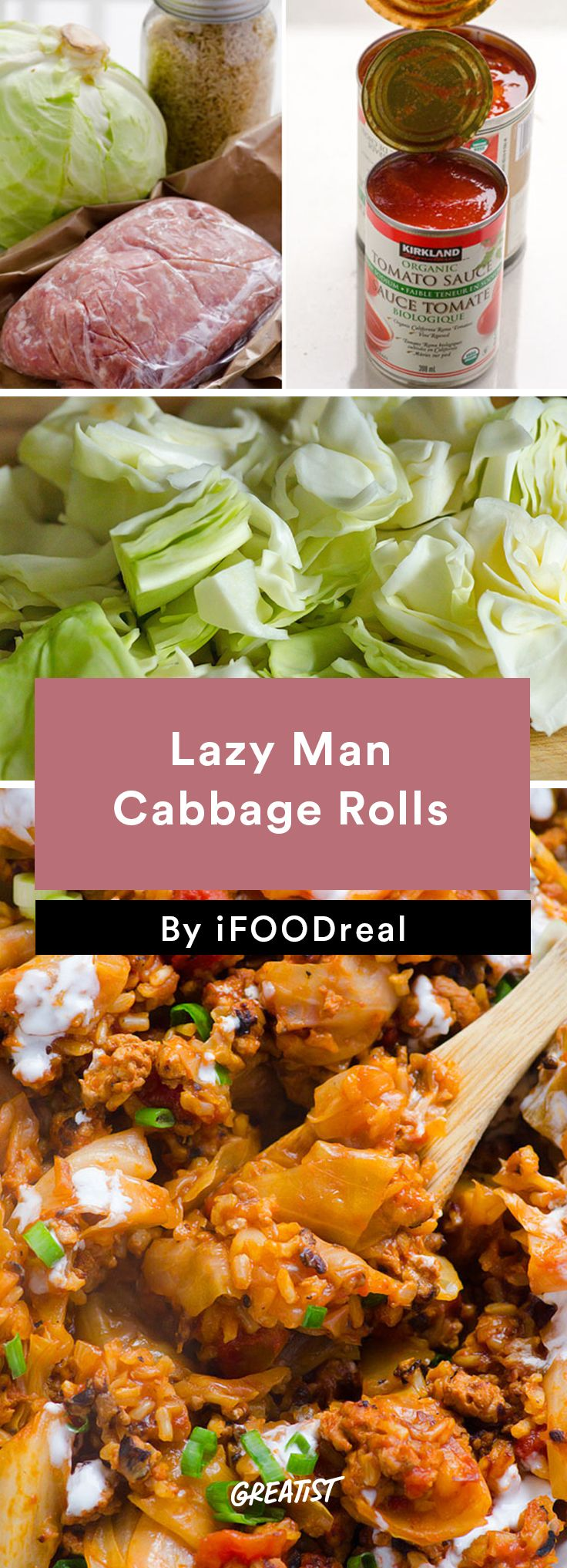 4. Lazy Man Cabbage Rolls #healthy #dinner #recipes http://greatist.com/eat/clean-eating-ground-turkey-recipes