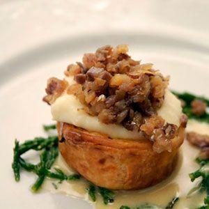 Patata croccante in sfoglia con Missoltini del Lago di Como su salsa al Marsala Pellegrino