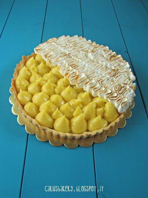 Caru's Bakery: Lemon Meringue PieCaru's Bakery: Lemon Meringue Pie - Crostata meringata al limone