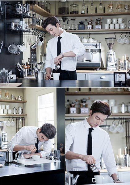 Coffee Prince hottie Gong Yoo for Kanu Coffee