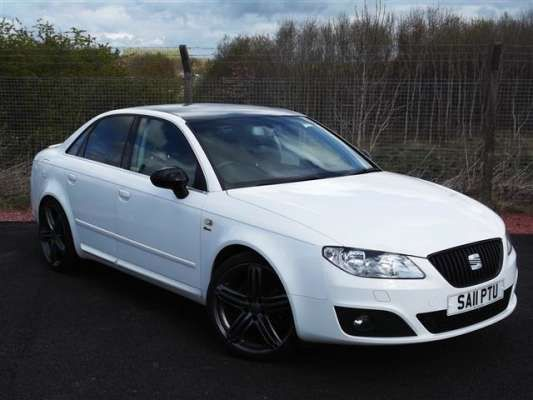 Used 2011 (11 reg) White Seat Exeo 2.0 TDI CR Sport Tech 4dr [143] for sale on RAC Cars