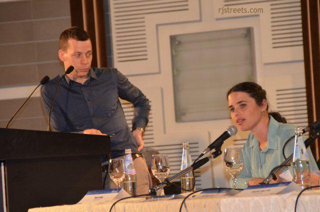 image Ayelet Shaked, photo Ayelet Shaked speaking, image Ayelet Shaked