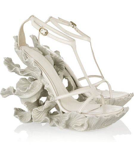 Alexander McQueen bridal shoes