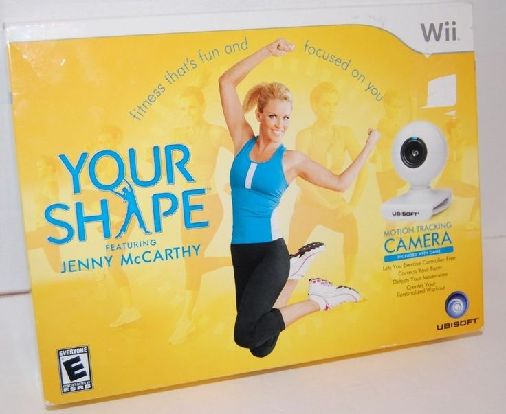 Your Shape Jenny McCarthy Wii   Motion Tracking Camera NEW In Box #YourShapefeaturingJennyMcCarthy