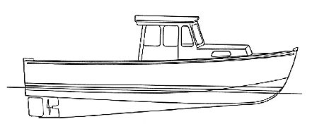 lobster boat drawing - Google Search | images in 2019 ...