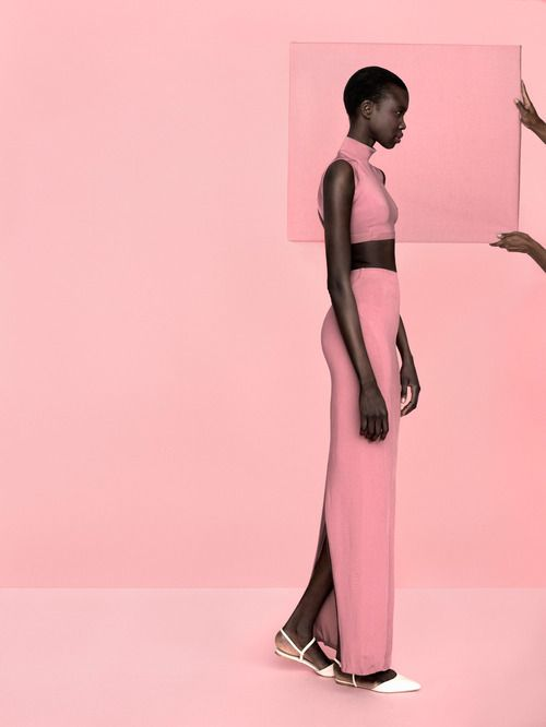 INSPIRE - Model of South Sudanese origin Nykhor photographed...