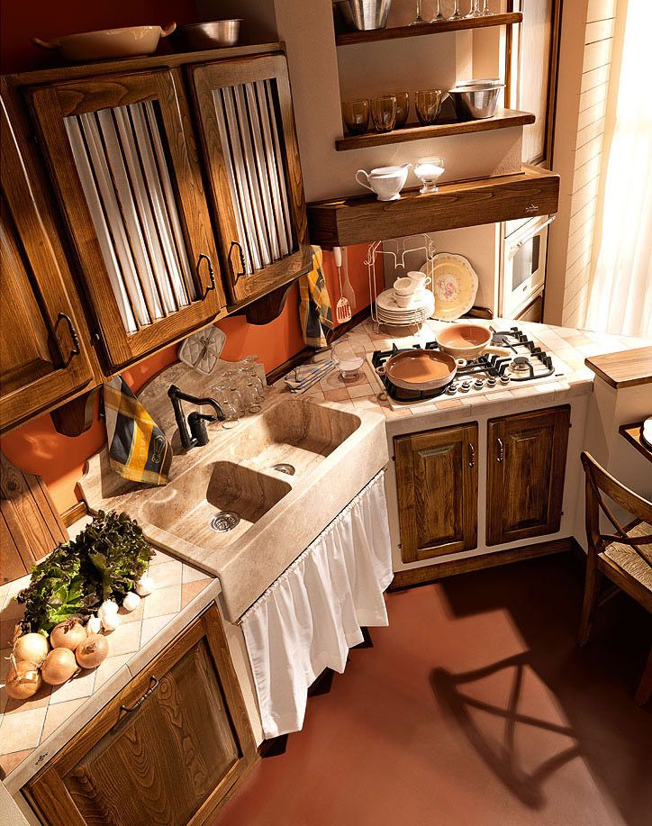 Cucine in muratura cucina paolina di oggi d da - Cucina country in muratura ...