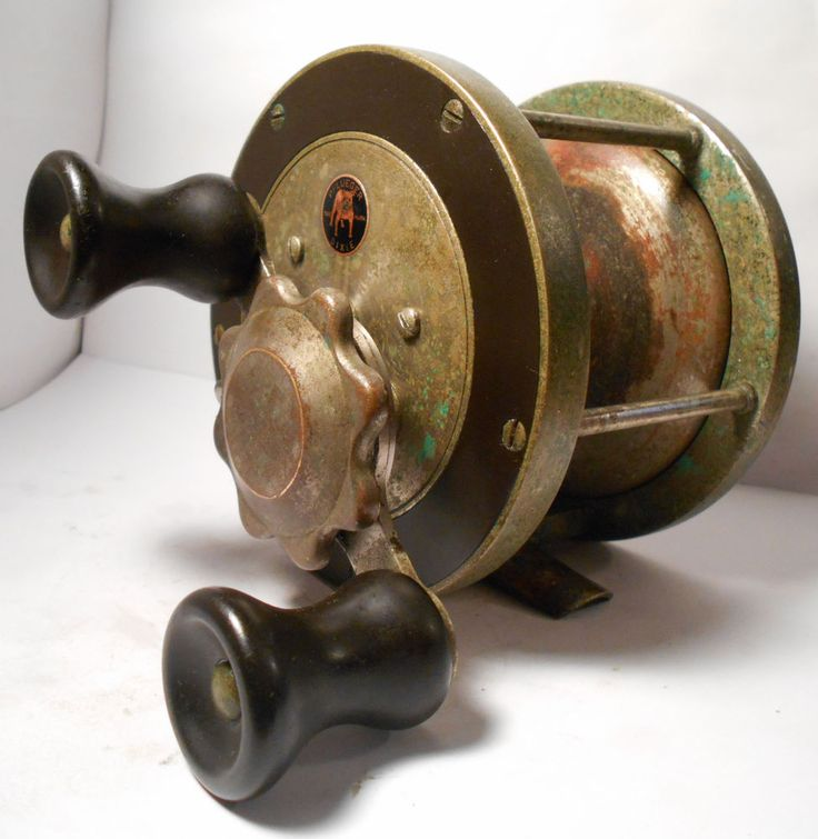 14 best images about vintage fishing reels on pinterest for Fishing line on reel