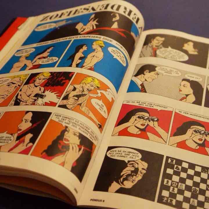 メルカリ商品: ディスプレイやコラージュ用に☆レア☆ノルウェーコミックマガジン #メルカリ