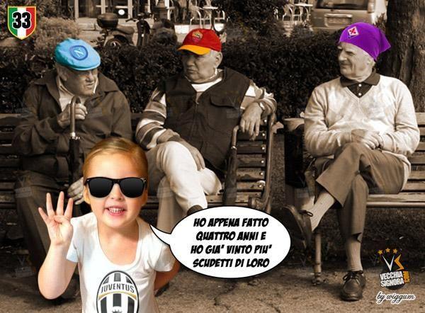 Juventus Campione, scudetto #4 con foto divertenti
