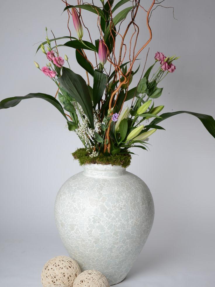 Amaris Elements Bodenvase Eierschale weiß kaufen im borono Online Shop
