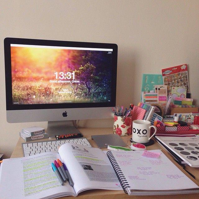 How I keep my study motivation - Happy Little Monster Blog