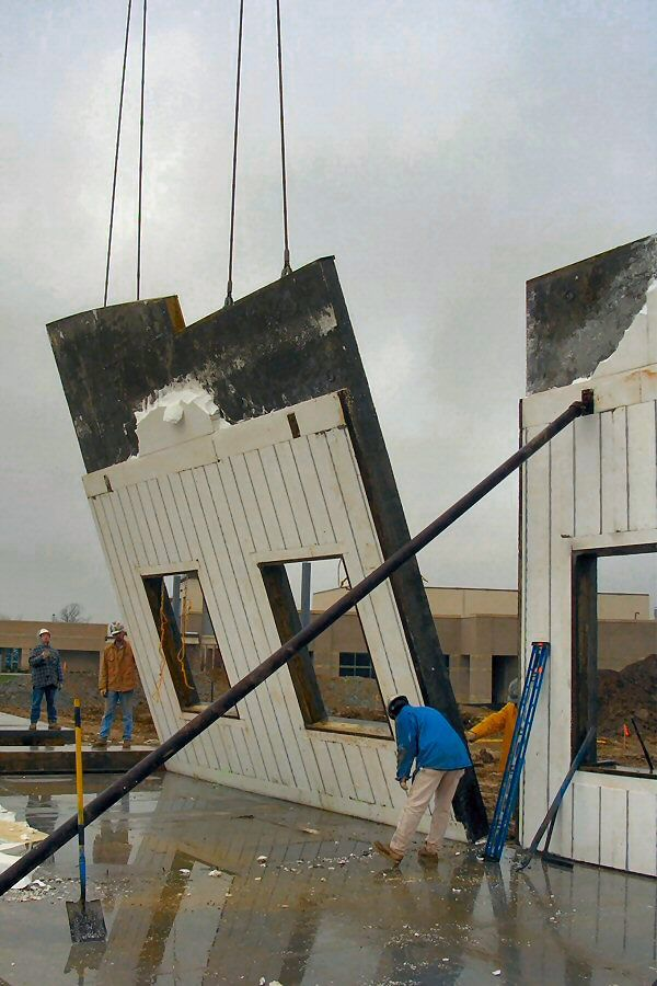 quaddeck insulated concrete forms for floors roofs and tiltup