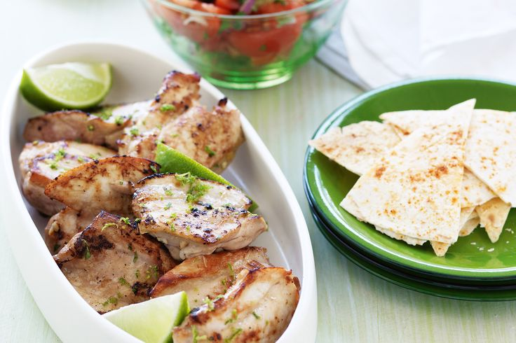Cook up a Mexican-inspired feast with this lime chicken dinner idea.