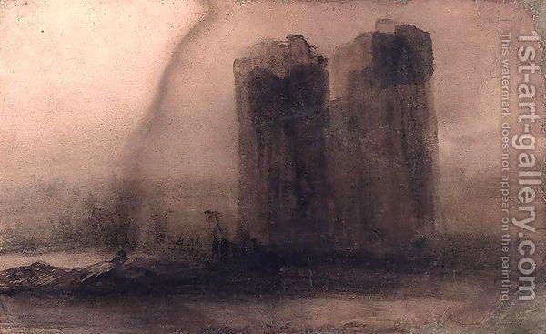 Victor Hugo  Vision Of Notre Dame  Oil on Canvas