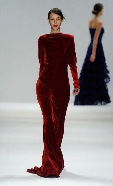 Dress!  TADASHI SHOJI Fall 2012(via  mbfashionweek.com  )