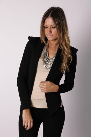 Jacket and Necklace