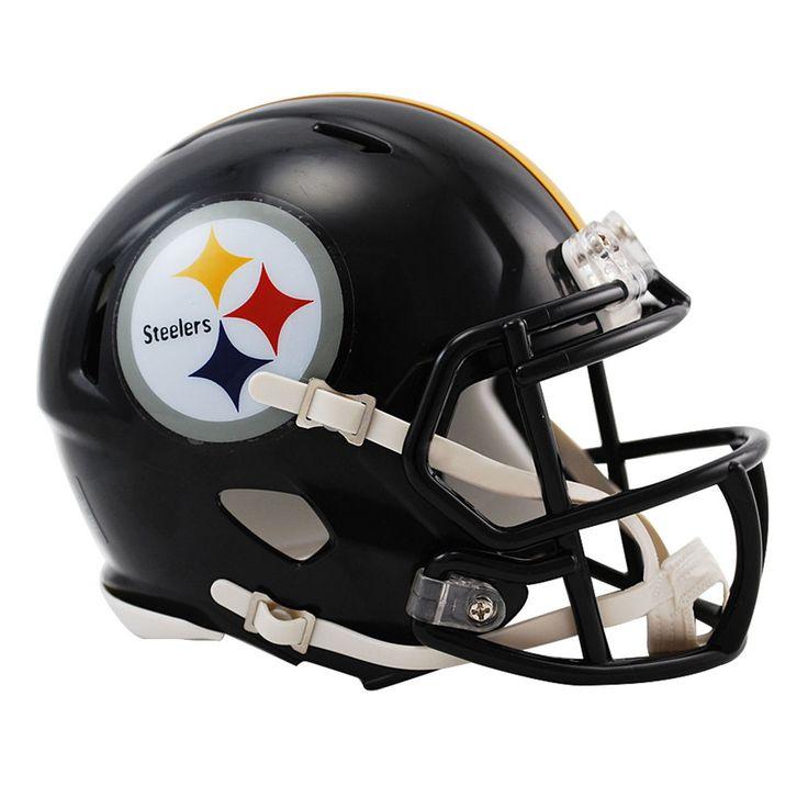 Riddell Pittsburgh Steelers Revolution Speed Mini Football Helmet