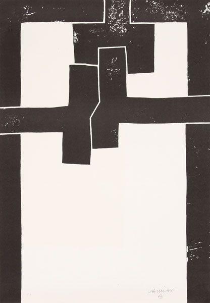 barcelona I, 1971 (lithograph) / eduardo chillida