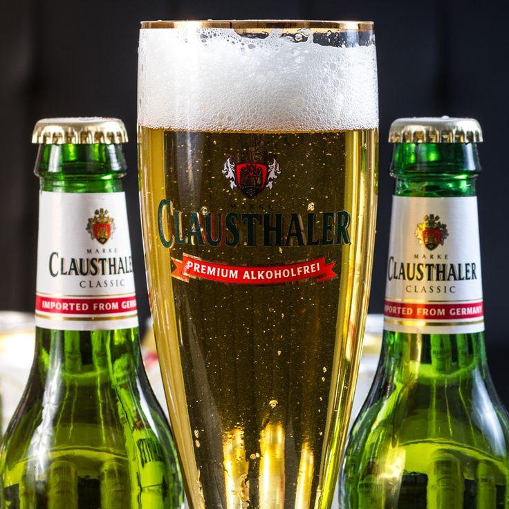 Sabor inigualable y presentación elegante. Dos cosas que definen una cerveza premium y a la mejor del mundo: Clausthaler