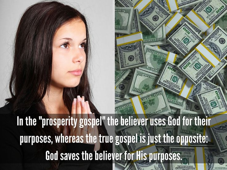 How should we respond to the #Prosperity Gospel / Word of Faith teachings and preachers? http://www.gotquestions.org/prosperity-gospel.html