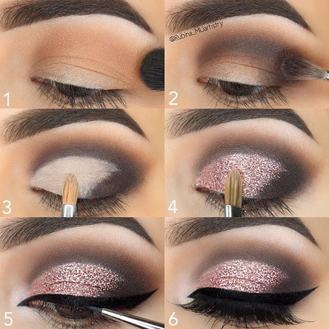 "#stepbystep Hope it's helpful   EYES @jeffreestarcosmetics Beauty Killer Palette @jeffreestar  GLITTER @eyekandycosmetics glitter in Double Bubble  LASHES @clio_beauty lashes in ""Diva""  EYELINER @morphebrushes Slate Gel Liner  BROWS @anastasiabeverlyhills Dipbrow Pomade in Dark Brown  BRUSHES @sigmabeauty brushes :  #morphebrushes #morphegirl #hudabeauty #shophudabeauty #hudabeautylashes #dollhousedubai #monakattan #alyakattan  #smokeyeye #anastasiabrows #abh #anastasiabeverlyhills #lashes…"