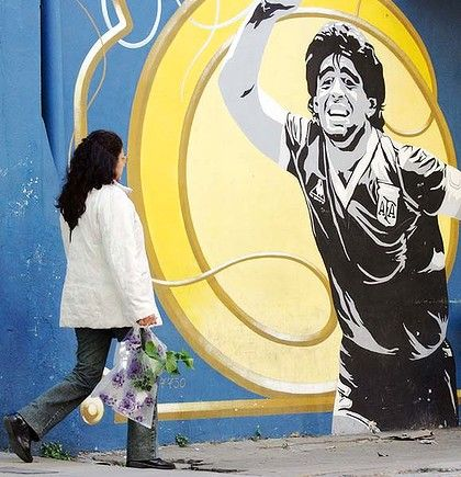Buenos Aires, Argentina Caminito, street art