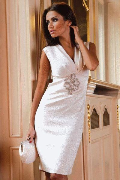 Атласные платья - 56 модных фото | WomanChoice - женский сайт