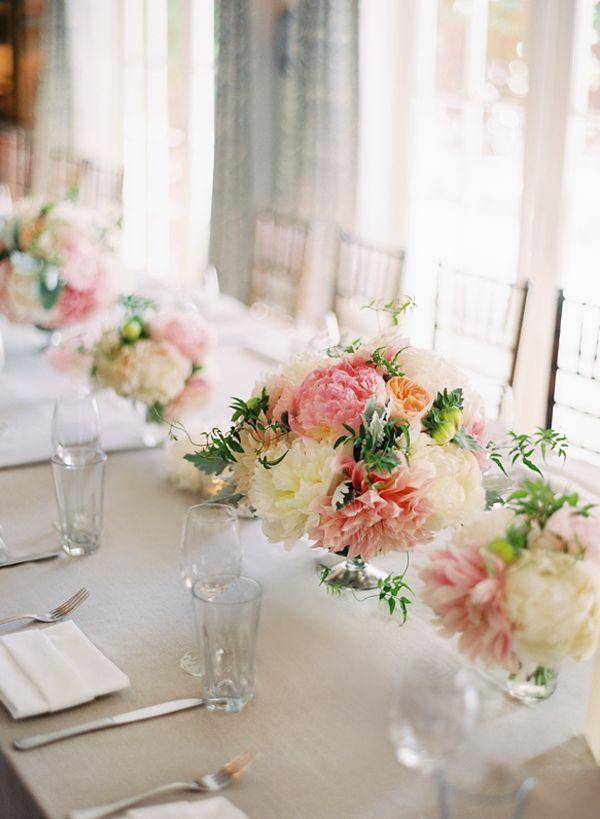 stunning pink & white blooms Source: itakeyou.co.uk