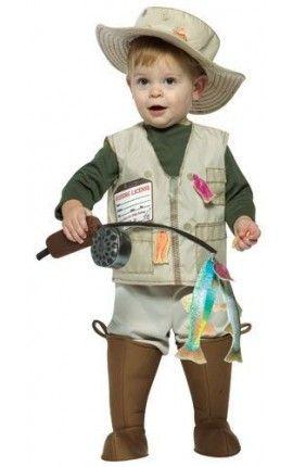 disfraz de pescador para beb