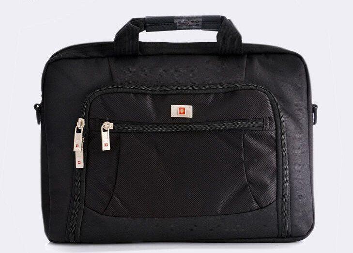Swisswin Wenger briefcase Laptop Sleeve men 14 Inch Laptop bag Waterproof Nylon