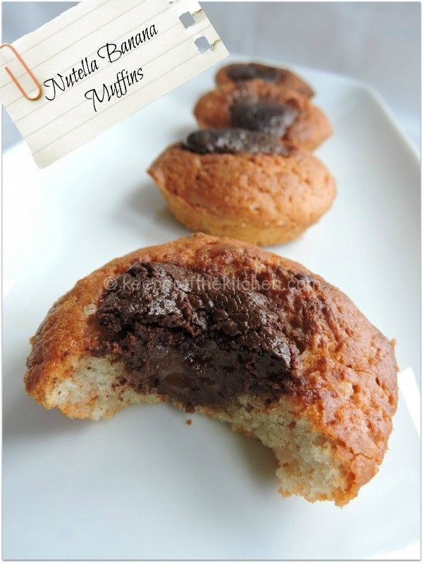 Nutella Banana Muffins2