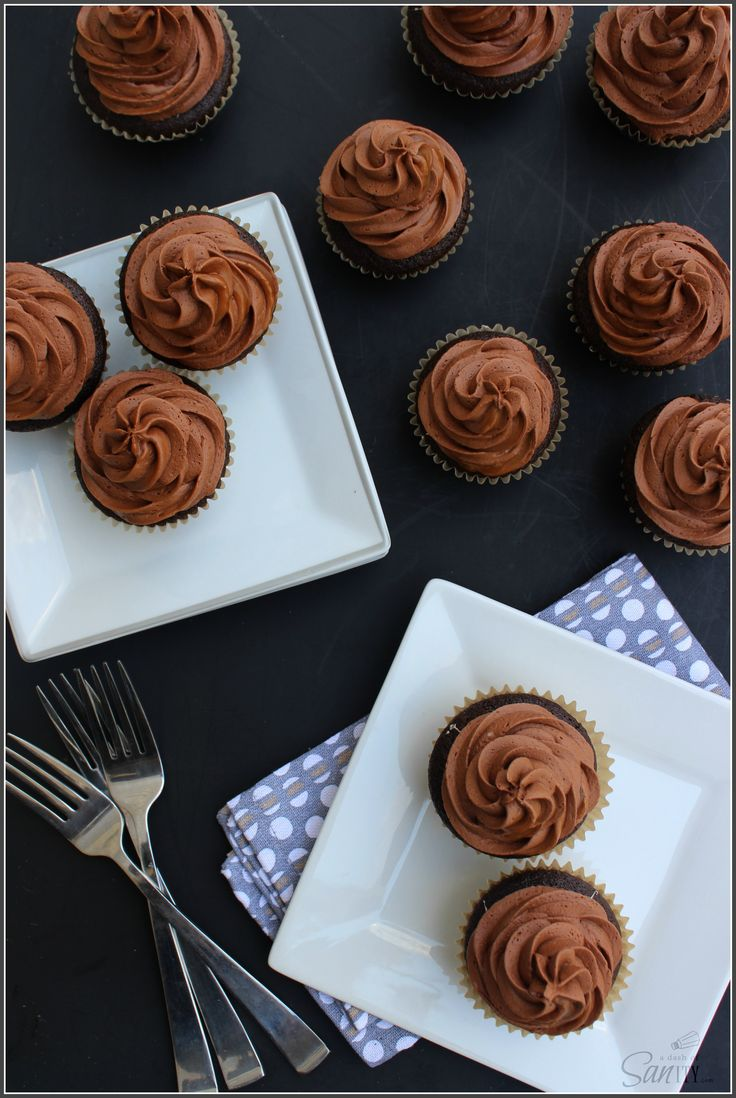 Chocolate Caramel Surprise Cupcakes - A Dash of Sanity