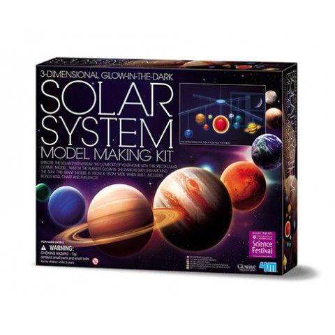 3-D solsystem mobil