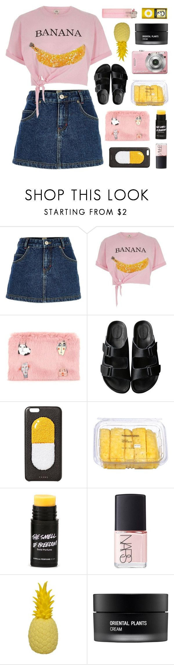"""""""THE SMELL OF FREEDOM"""" by emmas-fashion-diary ❤ liked on Polyvore featuring River Island, Shrimps, American Rag Cie, Chaos, NARS Cosmetics and Koh Gen Do"""