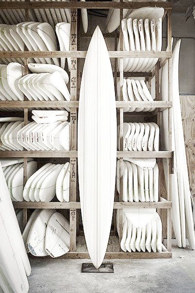 blank canvas: Surfshop, Beaches, White Boards, Clean Slate, Surfboard, Blank Canvas, California Style, Surfing Shops, Surfing Boards Design