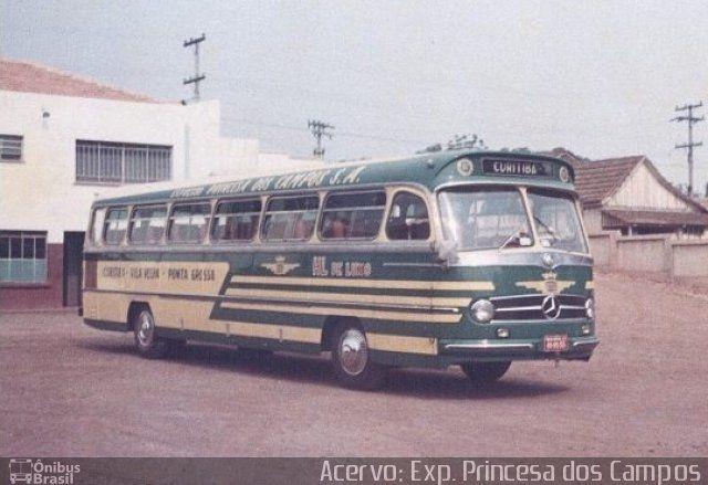 Ônibus da empresa Expresso Princesa dos Campos, carro XXXX, carroceria Mercedes-Benz Monobloco O-321, chassi Mercedes-Benz O-321. Foto na cidade de Ponta Grossa-PR por Acervo: Exp. Princesa dos Campos, publicada em 26/08/2016 13:15:26.