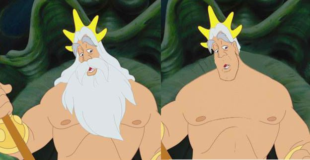 Disney Dudes without beards - 7 pics