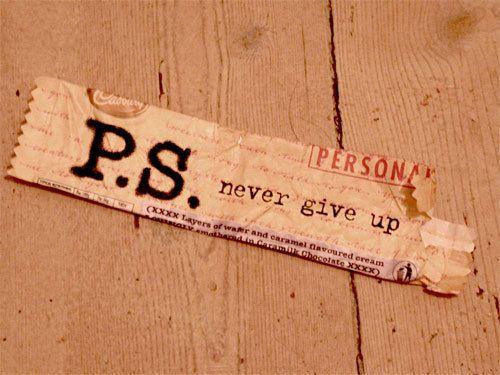 By Lokthar's Hammer, never give up, never surrender.