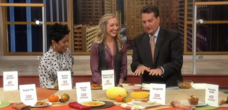 Fall Food Makeovers (ABC/Windy City Live) | Dawn Jackson Blatner, Registered Dietitian
