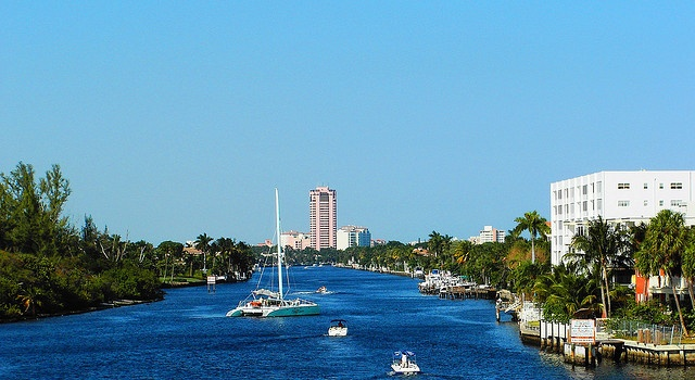 How far is Miami Beach from Boca Raton - driving distance