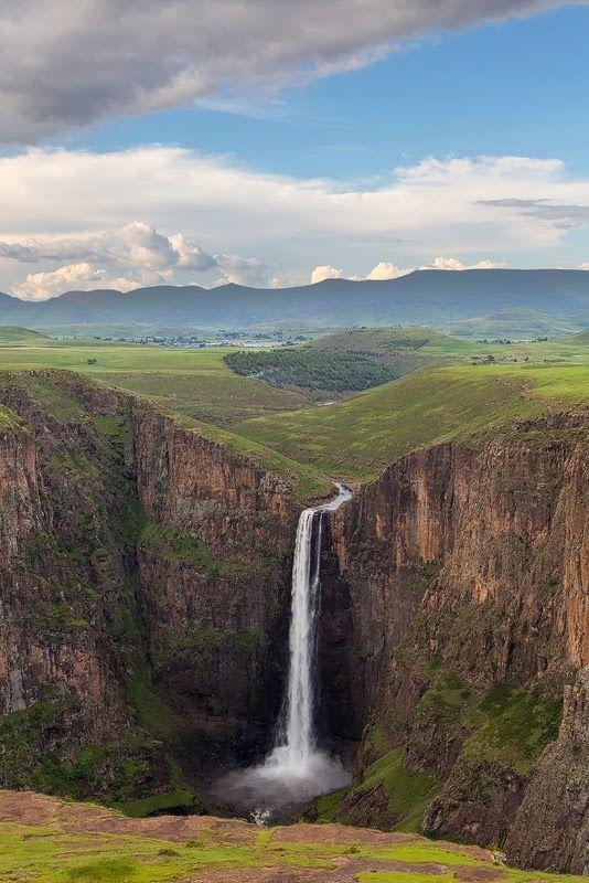 Semonkong Falls,Lesotho: